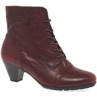 Gabor  National Womens Ankle Boots  women's Mid Boots in Red