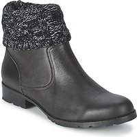 Mellow Yellow  RAY  women's Mid Boots in Black