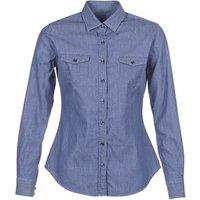 Yurban  FERVINE  women's Shirt in Blue
