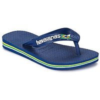 Havaianas  BRASIL LOGO  boys's Children's Flip flops / Sandals in Blue