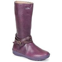 Garvalin  TARDA  girls's Children's High Boots in Purple