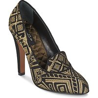 Etro  3055  womens Court Shoes in Gold