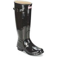 Hunter-Womens-Original-Tall-Gloss-womens-Wellington-Boots-in-Black