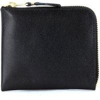 Comme Des Garcons  Comme Des Garçons  black leather wallet  womens Purse wallet in Black