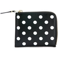 Comme Des Garcons  Comme Des Garçons Wallets rectangular black and white polka  womens Purse wallet in Black