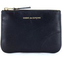 Comme Des Garcons  pouch in black calf leather  mens Purse wallet in Black
