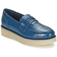 F-Troupe  Penny Loafer  women's Loafers / Casual Shoes in Blue