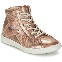 GBB  PRUNELLA  girls's Children's Shoes (High-top Trainers) in Gold