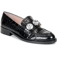 Moschino Cheap andamp; CHIC  STONES  womens Loafers / Casual Shoes in Black