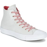Converse  CHUCK TAYLOR ALL STAR II BASKETWEAVE FUSE HI  women's Shoes (High-top Trainers) in White