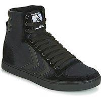 Hummel  TEN STAR TONAL HIGH  mens Shoes (High-top Trainers) in Black