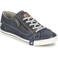 Mustang  RAD  women's Shoes (Trainers) in Blue
