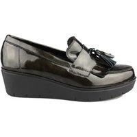Kroc  MOCASIN CON CUNA  women's Loafers / Casual Shoes in Green