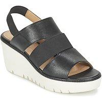 Geox D Domezia B Sandals In Black