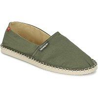 Havaianas-ORIGINE-III-womens-Espadrilles-Casual-Shoes-in-Green