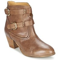 Casual Attitude  SANOU  women's Low Ankle Boots in Brown