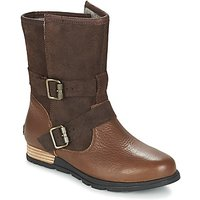 Sorel  SOREL MAJOR MOTO  women's Mid Boots in Brown