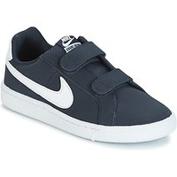 Nike  COURT ROYALE PRESCHOOL  boys's Children's Shoes (Trainers) in Blue
