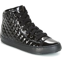 Geox  J KALISPERA G.F  girls's Children's Shoes (High-top Trainers) in Black