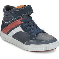 Geox  J ARZACH B. C  boys's Children's Shoes (High-top Trainers) in Blue