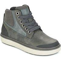 Geox  J MATT.B ABX C  boys's Children's Shoes (High-top Trainers) in Grey