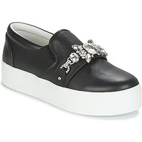 Marc Jacobs  WRIGHT EMBELLISHED SNEAKER  women's Slip-ons (Shoes) in Black