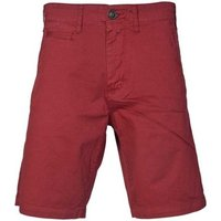 Armani jeans  C6S08NZ_7sburgundy  men's Shorts in Red