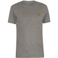 Lyle   Scott  Logo T-Shirt  men's T shirt in Grey