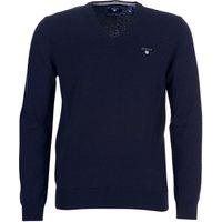 Gant  SUPER FINE LAMBSWOOL V-NECK  men's Sweater in Blue