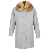 Naf Naf  ADOUTA  womens Coat in Grey