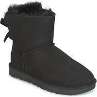 UGG  MINI BAILEY BOW II  women's Mid Boots in Black