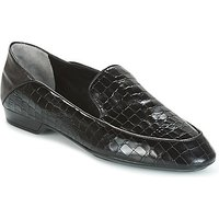 Robert Clergerie  FANIN-COCCO-AGNEAU-NOIR  women's Loafers / Casual Shoes in Black