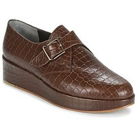 Robert Clergerie  NONKA-V.COCCO-CHOCOLAT  womens Casual Shoes in Brown