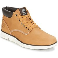 Timberland-BRADSTREET-CHUKKA-LEATHER-mens-Shoes-Hightop-Trainers-in-Brown
