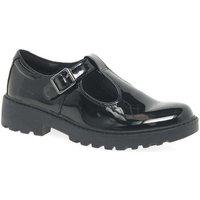 Geox  Junior Casey T-Bar Senior Girls School Shoes  girls's Children's Shoes (Pumps / Ballerinas) in