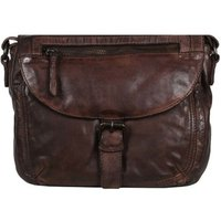 Gianni Conti  Alessandria Womens Messenger Bag  womens Handbags in Brown