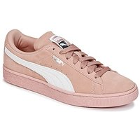 Puma  SUEDE CLASSIC W'S  women's Shoes (Trainers) in Pink