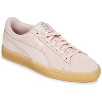 Puma  SUEDE CLASSIC BUBBLE W'S  women's Shoes (Trainers) in Pink