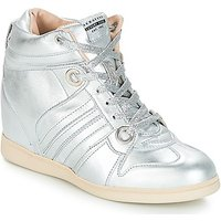 Serafini  MANHATTAN  women's Shoes (High-top Trainers) in Silver