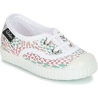 Aster  MILEY  girls's Children's Shoes (Trainers) in White