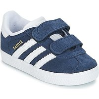 adidas  GAZELLE CF I  girls's Children's Shoes (Trainers) in Blue