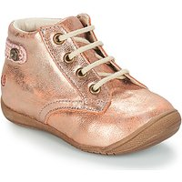 GBB  NICOLE  girls's Children's Mid Boots in Pink