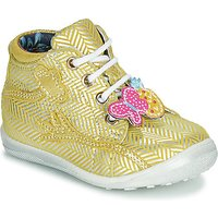 Catimini  SALAMANDRE  girlss Childrens Shoes (High-top Trainers) in Yellow