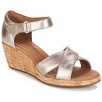 Clarks  UN PLAZA CROSS  women's Sandals in Gold