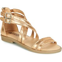 Citrouille et Compagnie  IMOURAT  girls's Children's Sandals in Gold