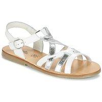 Citrouille et Compagnie  IMONGI  girls's Children's Sandals in White