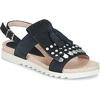 Elue par nous  CHACAL  women's Sandals in Blue