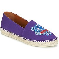 Kenzo Classic Espadrilles Tiger Espadrilles / Casual Shoes In Purple
