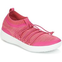FitFlop  UBERKNITW SLIP-ON GRILLE SNEAKERS  women's Shoes (Trainers) in Pink
