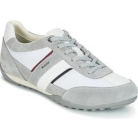 Geox  U WELLS C  men's Shoes (Trainers) in White